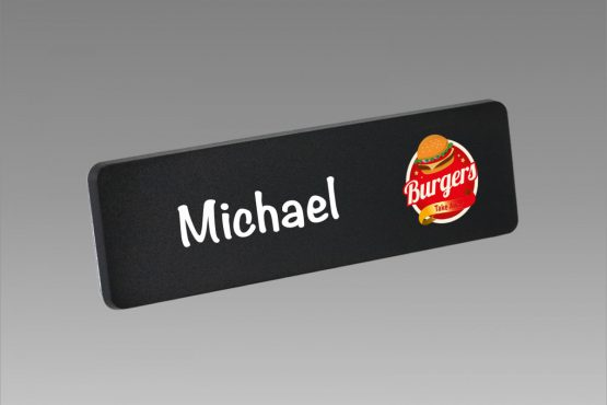 Chalk Board Name Badge